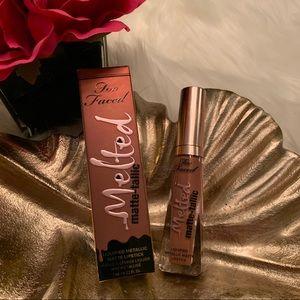 3/$25⭐️Too Faced Melted Metallic Matte Lipstick